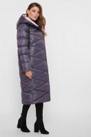 длинная зимняя куртка. Куртка 8230. Цвет: 41-графит цена