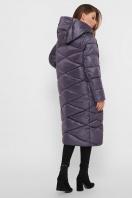 длинная зимняя куртка. Куртка 8230. Цвет: 41-графит в интернет-магазине