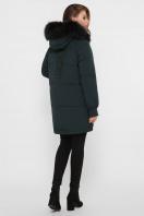темно-синяя куртка на биопухе. Куртка М-78. Цвет: 13-изумруд в Украине