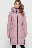 темно-синяя куртка на зиму. Куртка М-109. Цвет: 03-пудра цена