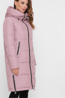 темно-синяя куртка на зиму. Куртка М-109. Цвет: 03-пудра в интернет-магазине