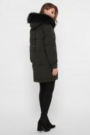темно-синяя куртка на биопухе. Куртка М-78. Цвет: 16-хаки в интернет-магазине
