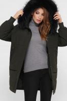темно-синяя куртка на биопухе. Куртка М-78. Цвет: 16-хаки в Украине