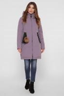 лиловая зимняя куртка. Куртка М-83. Цвет: 26-лиловый цена