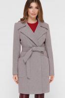 серое пальто с накладными карманами. Пальто ПМ-123. Цвет: 12-серый купить