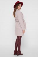 светло-серое двубортное пальто. Пальто ПМ-132. Цвет: 26-св.серый цена