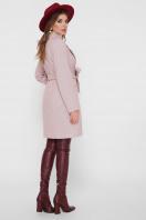 серое пальто с накладными карманами. Пальто ПМ-123. Цвет: 17-персик цена