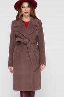 коричневое пальто из кашемира. Пальто ПМ-125. Цвет: 3-коричневый купить