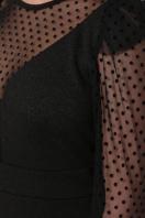 синее платье в горошек. платье Береника д/р. Цвет: черный в Украине