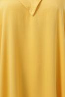 длинное платье больших размеров. 0302 Платье пляжное. Цвет: горчица недорого