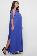 длинное платье больших размеров. 0302 Платье пляжное. Цвет: синий цена