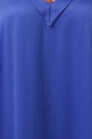 длинное платье больших размеров. 0302 Платье пляжное. Цвет: синий в Украине