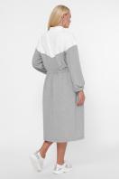 спортивное платье для полных женщин. 0303 Платье спорт. Цвет: серый в Украине