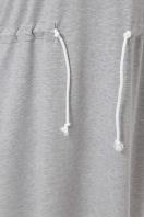 спортивное платье для полных женщин. 0303 Платье спорт. Цвет: серый недорого