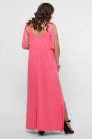 длинное платье больших размеров. 0302 Платье пляжное. Цвет: розовый в интернет-магазине