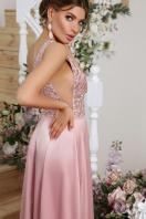 лиловое платье в пол. платье Мэйси б/р. Цвет: лиловый в интернет-магазине