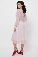 . платье Алеста д/р. Цвет: розовый-цветы м. в интернет-магазине