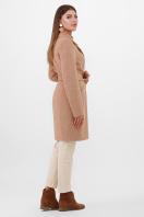 бежевое пальто с поясом. Пальто ПМ-100. Цвет: 11-горчица цена
