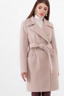 бежевое пальто с поясом. Пальто ПМ-100. Цвет: 30-св.бежевый купить