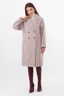 двубортное бежевое пальто. Пальто ПМ-135. Цвет: 290-бежевый в интернет-магазине