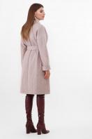двубортное бежевое пальто. Пальто ПМ-135. Цвет: 290-бежевый в Украине