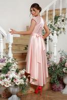 атласное красное платье. платье Нинель к/р. Цвет: св. розовый цена