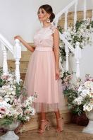 пышное платье миди. платье Джуди б/р. Цвет: персик купить