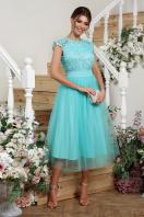 пышное платье миди. платье Джуди б/р. Цвет: мята купить