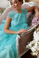 пышное платье миди. платье Джуди б/р. Цвет: мята в Украине