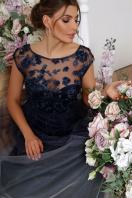 бордовое вечернее платье. платье Августина б/р. Цвет: синий цена