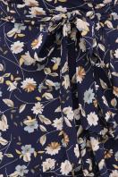. платье София б/р. Цвет: синий-цветы в интернет-магазине