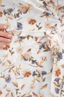 . платье София б/р. Цвет: молоко-цветы в интернет-магазине