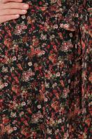 . платье Алеста д/р. Цвет: черный-роза красная в Украине