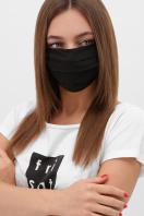 защитная маска цвета хаки. Маска №1. Цвет: черный купить