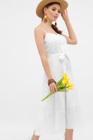 белый сарафан из прошвы. сарафан Алиада. Цвет: белый купить