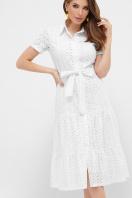 белое платье из прошвы. платье Уника к/р. Цвет: белый купить