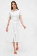 белое платье из прошвы. платье Уника к/р. Цвет: белый цена