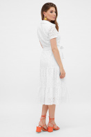 белое платье из прошвы. платье Уника к/р. Цвет: белый в интернет-магазине
