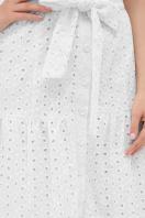 белое платье из прошвы. платье Уника к/р. Цвет: белый в Украине
