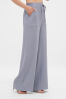 легкие синие брюки. брюки Тилли. Цвет: св.джинс купить