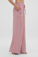 летние бежевые брюки. брюки Тилли. Цвет: пыльная роза цена