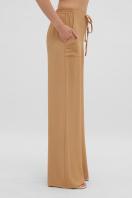 летние бежевые брюки. брюки Тилли. Цвет: темно бежевый цена