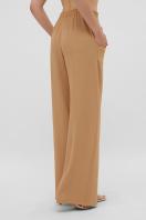 летние бежевые брюки. брюки Тилли. Цвет: темно бежевый в интернет-магазине