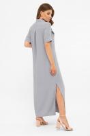 бежевое рубашечное платье. платье-рубашка Мелиса к/р. Цвет: св.джинс цена