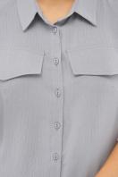 бежевое рубашечное платье. платье-рубашка Мелиса к/р. Цвет: св.джинс в интернет-магазине