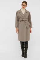 . Пальто П-300-100. Цвет: 2326-коричневый купить
