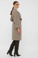 . Пальто П-300-100. Цвет: 2326-коричневый в интернет-магазине