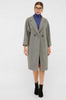 . Пальто П-300-100. Цвет: 2325-серый цена
