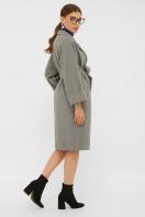 . Пальто П-300-100. Цвет: 2325-серый в интернет-магазине
