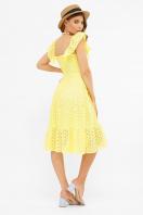 сиреневый сарафан из прошвы. сарафан Фрина К. Цвет: желтый в интернет-магазине